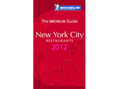 NEW YORK CITY 2012 GUIDE ROUGE MICHELIN