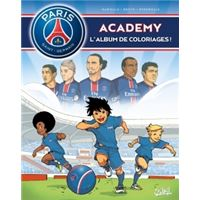 Paris Saint-Germain Academy - Album de coloriage