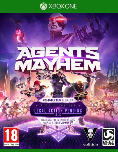 Agents of Mayhem Edition Spéciale Xbox One