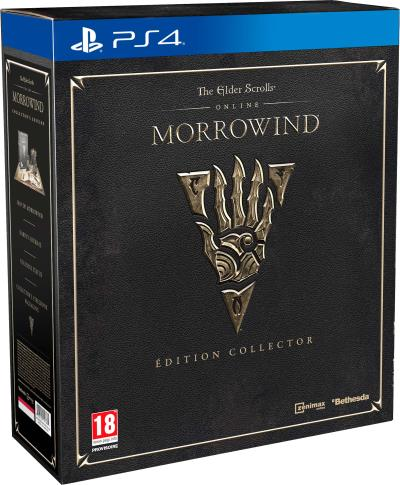 The Elder Scrolls Online : Morrowind Edition Collector PS4