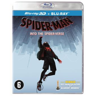 SPIDER-MAN: INTO THE SPIDER-VERSE-BIL-BLURAY 3D