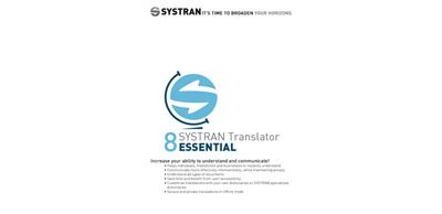 SYSTRAN 8 Translator Essential French European Pack