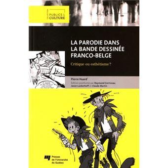Parodie dans la bande dessinee franco belge