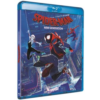 Spider-ManSpider-Man: New Generation Blu-ray