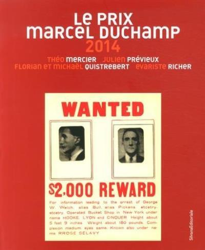 Les nommés du prix Marcel Duchamp 2014