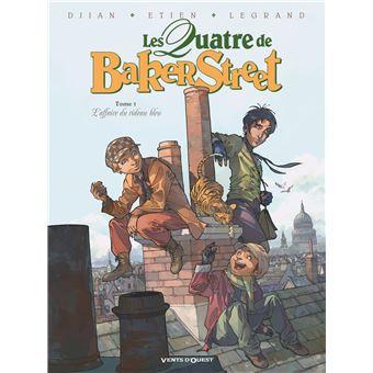 Les quatre de Baker StreetL'Affaire du rideau bleu