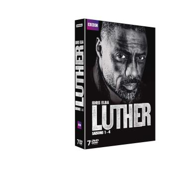 LutherLuther Coffret Intégrale des 4 saisons DVD