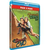 A la poursuite du diamant vert - Le diamant du Nil - Bipack Blu-Ray