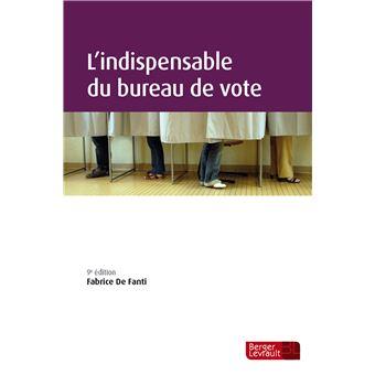 L'indispensable du bureau de vote (6e éd.)