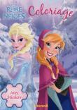 Frozen, La reine des neige - La Reine des Neiges, coloriage avec stickers
