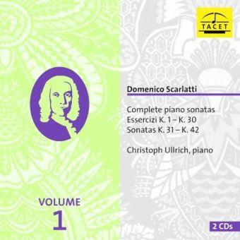 Integrale des sonates pour piano vol 1