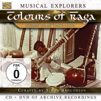 COLOURS OF RAGA/CD+DVD