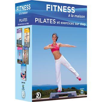 Fitness à la maisonCoffret Fitness à la maison 2 Pilates et exercices sur step DVD