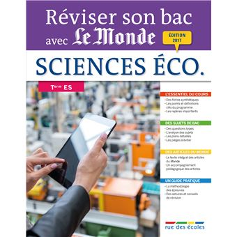 Réviser son Bac avec le Monde : Sciences économiques et sociales Term, série ES