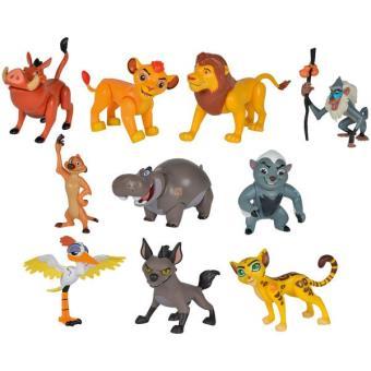 coffret de 10 figurines la garde du roi lion simba 8 cm autres figurines et r pliques achat. Black Bedroom Furniture Sets. Home Design Ideas
