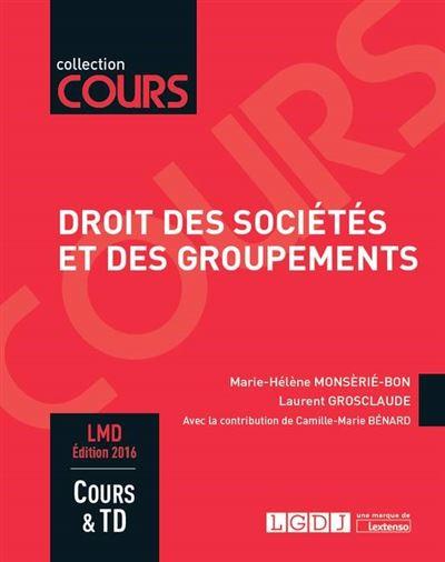 Droit des sociétés et des groupements