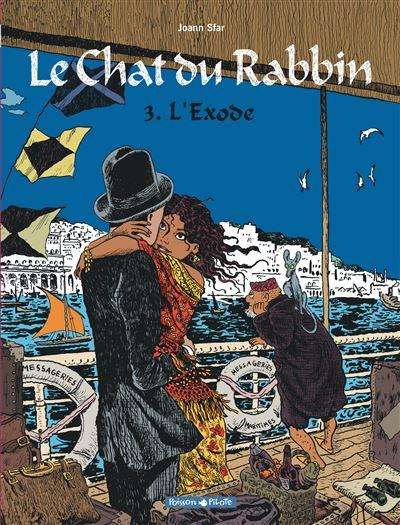Le Chat du Rabbin, tome 3 - L'Exode