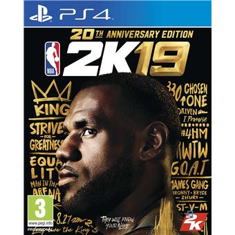 NBA 2K19 Edition 20ème anniversaire PS4
