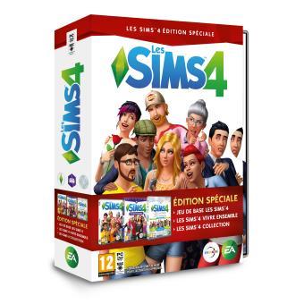les sims 4 pack collector no l 2016 pc jeux vid o achat prix fnac. Black Bedroom Furniture Sets. Home Design Ideas