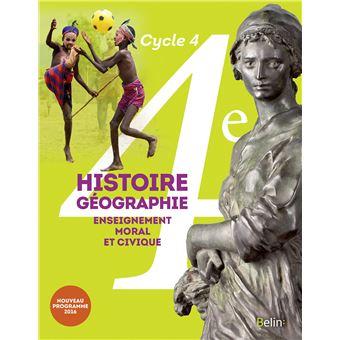 Histoire, Géographie, EMC 4ème Cycle 4