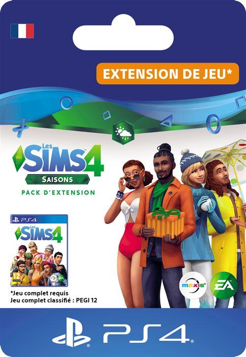 Code de téléchargement Les Sims 4 Saison PS4