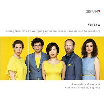Yellow quatuors a cordes