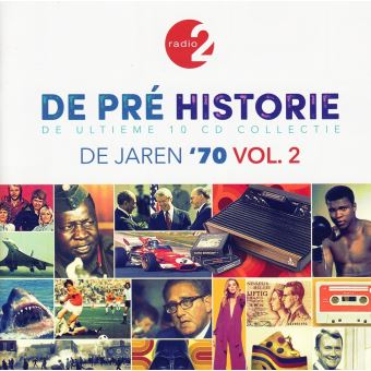 De pre historie - de jaren 70 vol.2/10cd