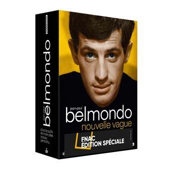 Coffret Jean-Paul Belmondo Nouvelle vague 4 Films Edition Fnac DVD