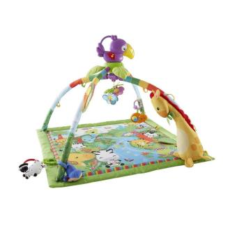 Tapis de la jungle fisher price tapis d 39 veil achat prix fnac - Tapis animaux de la jungle ...