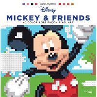 Carrés mystères Disney Mickey & friends