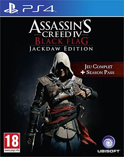 Assassin's Creed 4 Black Flag Jackdaw Edition PS4 - PlayStation 4