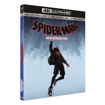 Spider-ManSpider-Man: New Generation Blu-ray 4K Ultra HD