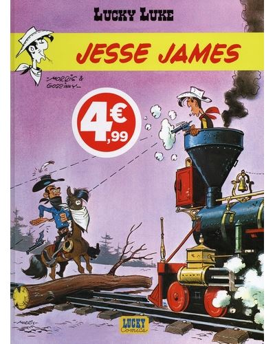 Lucky Luke - Jesse James (Indispensables 2020)