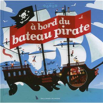 À bord du bateau pirate : Billioud, Jean-Michel