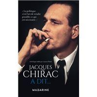 Jacques Chirac a dit...