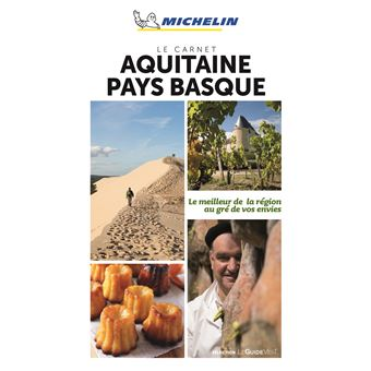 Le Carnet Aquitaine pays basque Michelin