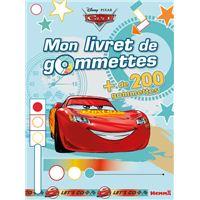 Cars - Mon livret de gommettes (Flash Mc Queen)