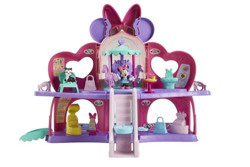 Coffret Le Shopping de Rêve Minnie Fisher Price + Figurine Figaro