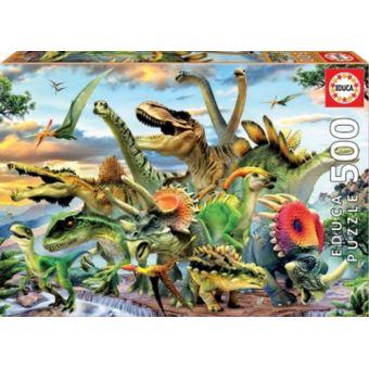 Educa Puzzel - 500 Dinosaurussen