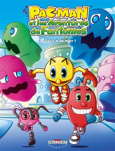 Pac-Man et les aventures de fantômes T02 Tous à la mer !
