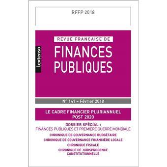 Revue française de finances publiques n 141 - 2018