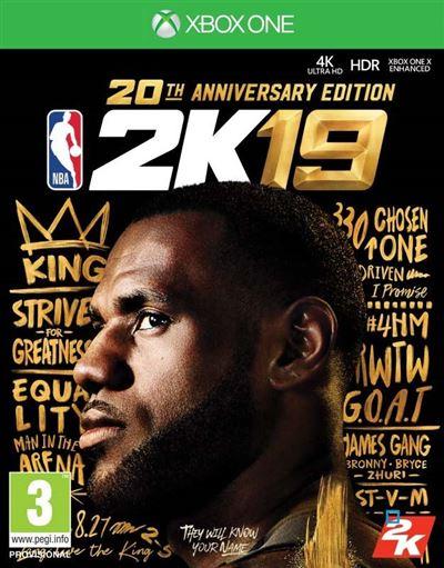 NBA 2K19 Edition 20ème anniversaire Xbox One