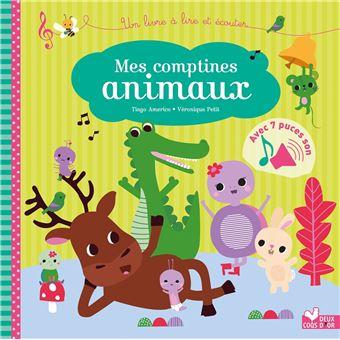 Mes petites comptines animaux - livre sonore