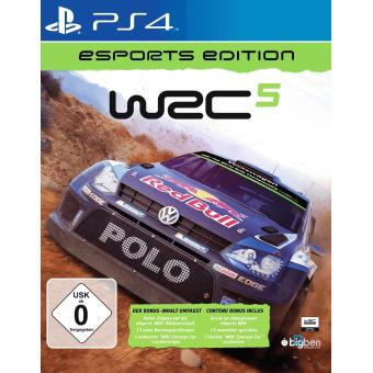 WRC 5 E-SPORT PS4