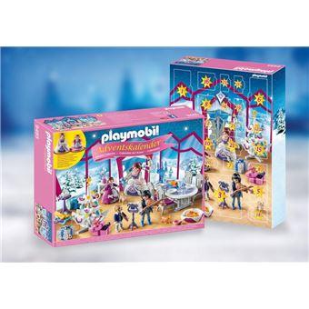 Playmobil Calendrier.Playmobil Christmas La Magie De Noel 9485 Calendrier De L Avent Bal De Noel Salon De Cristal