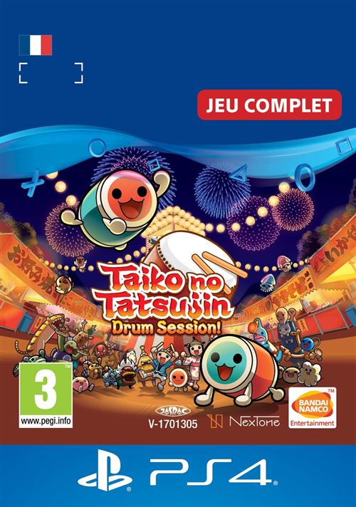Code de téléchargement Taiko No Tatsujin Drum Session ! PS4