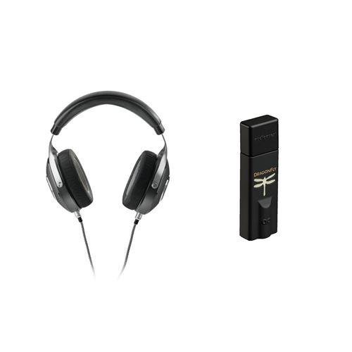 Un casque Focal Elegia Noir + un ampli/DAC casque Audioquest Dragonfly Noir