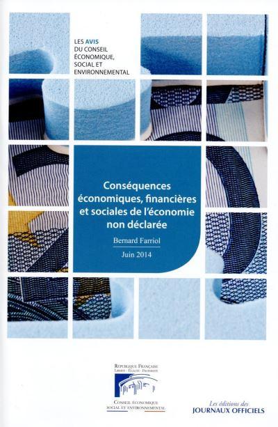 Conséquences économiques financières et sociales de l'économie non déclarée