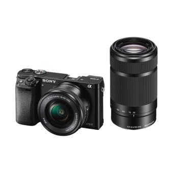 Sony a6000 (Alpha 6000) ILCE-6000Y - digitaal fototoestel objectieven 16-50 mm en 55-210 mm