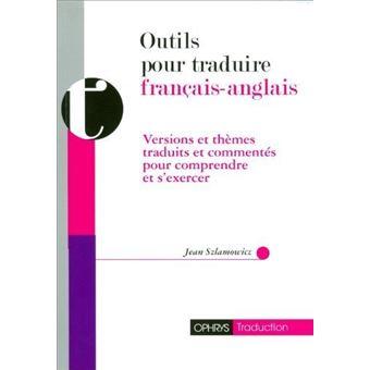 Outils Pour Traduire Francais Anglais